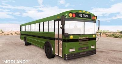 Dansworth D2500 (Type-D) US Army Bus Mod [0.9.0]